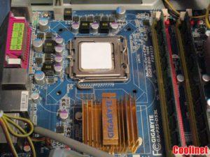 Наносим новую термопасту на процессор