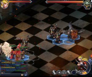 Игра Винтерфрост Наследие Севера режим шахматы