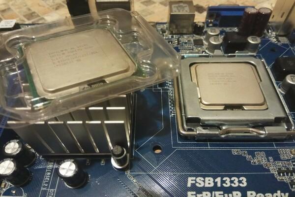 процессоры 775 сокет Intel Core 2 Quad Q 9505 и CORE 2 DUO