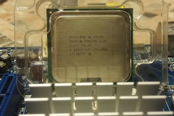 процессор 775 сокет Intel Core 2 Quad Q 9505 LGA 775