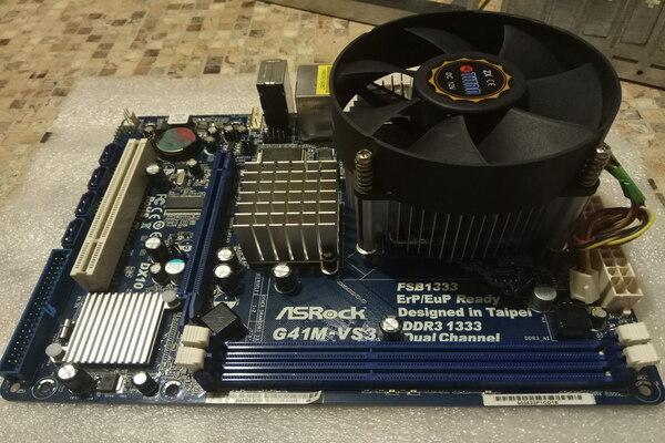 Установка охлаждения на процессор ПК