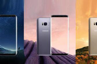 Samsung Galaxy S8 видео