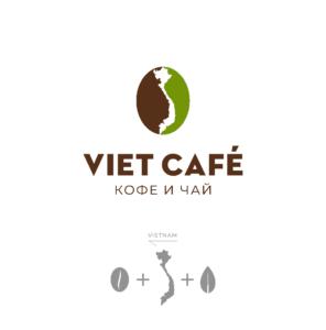 Разработку логотипа заказала владелица магазина кофе и чая во Вьетнаме