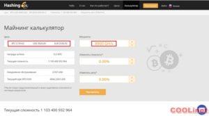 Hashing24 калькулятор дохода