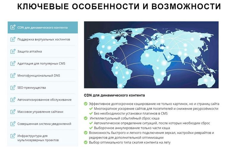 Ускорение загрузки и защита сайта