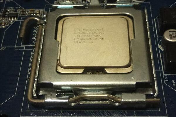 процессор CORE 2 DUO на 2,9 GHZ