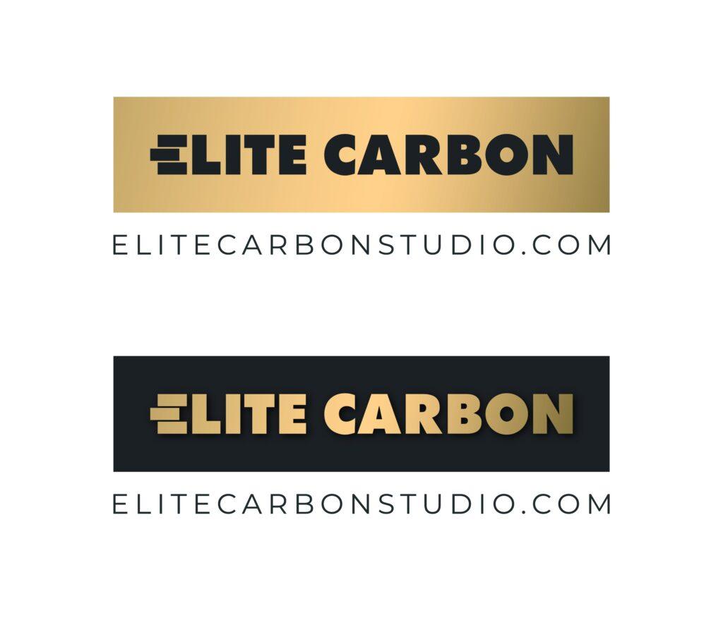 Логотип компании Элит Карбон Студио