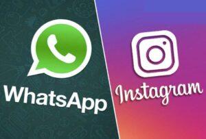WhatsApp и Instagram не работают
